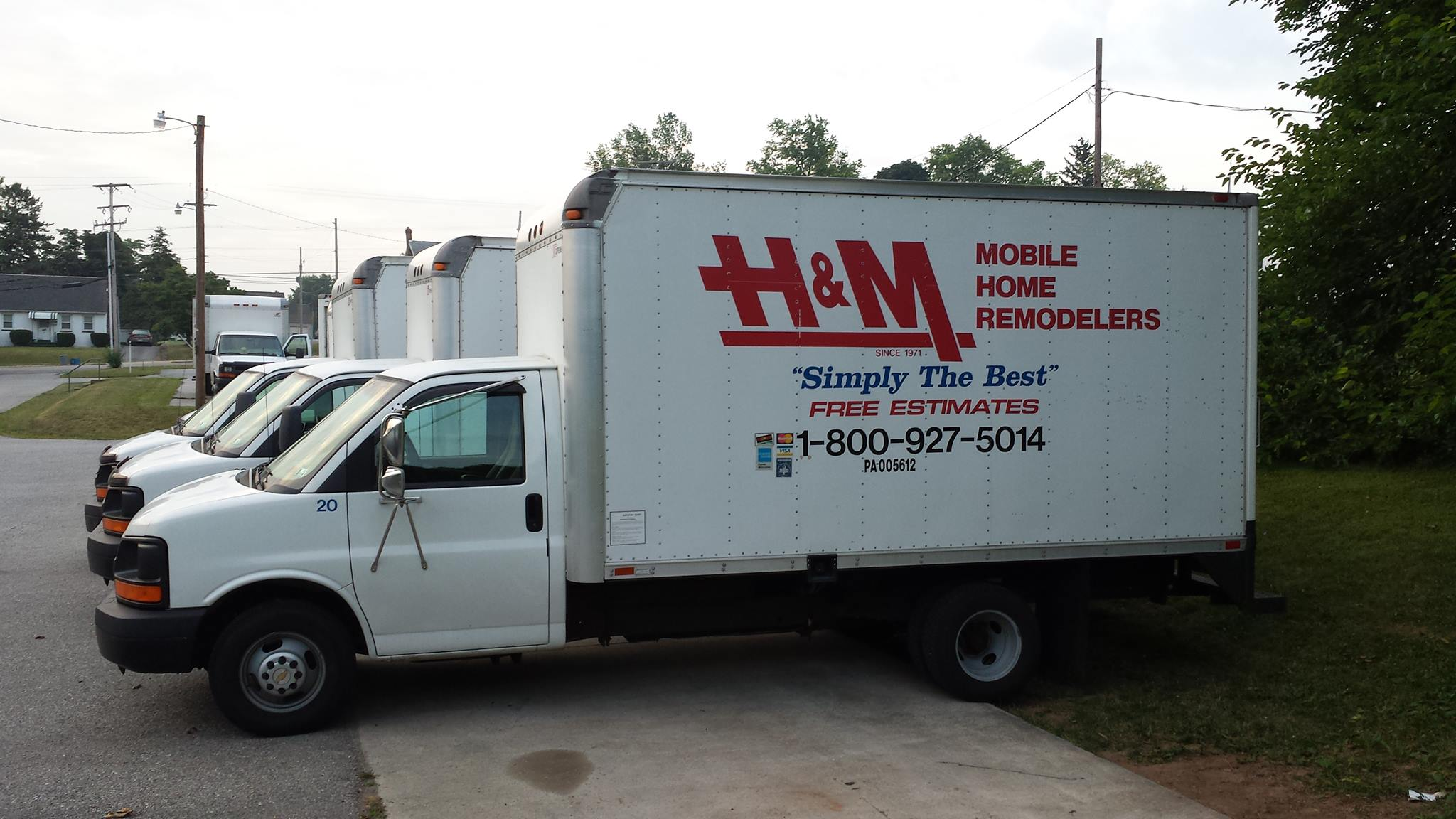 H & M Mobile Home Remodelers – Serving 14 Counties in