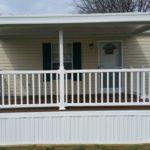 Awning,deck, skirting, PVC railing